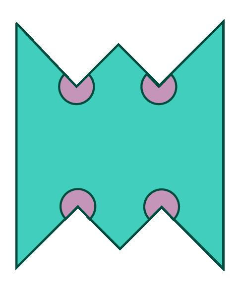 irregular deacgon