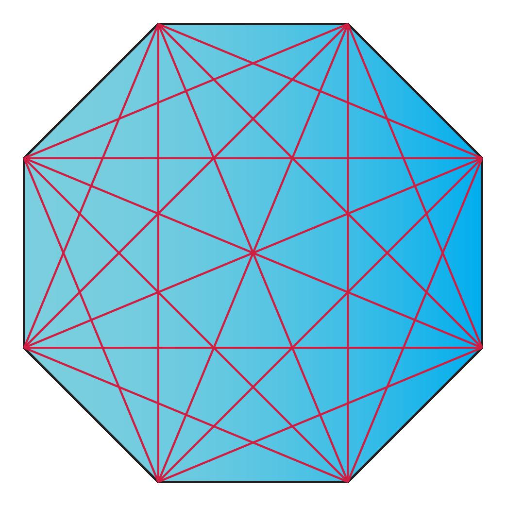 diagonals of a decagon