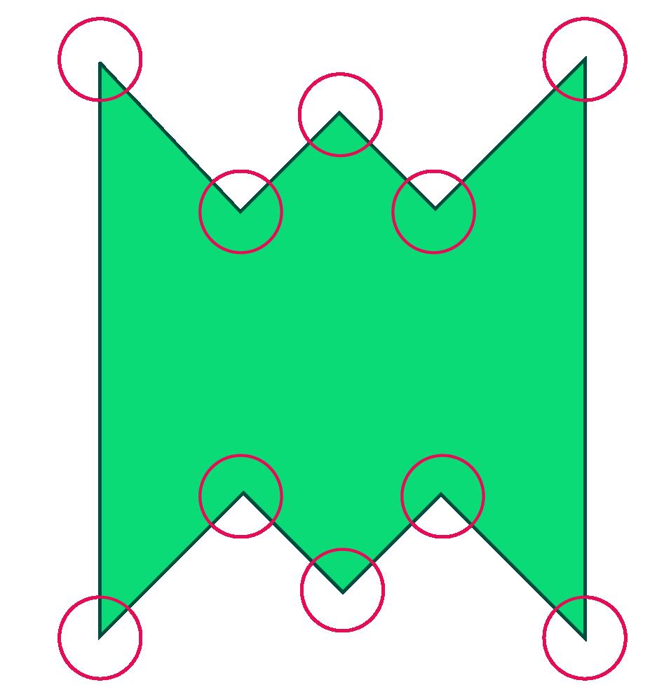 irregular decagon