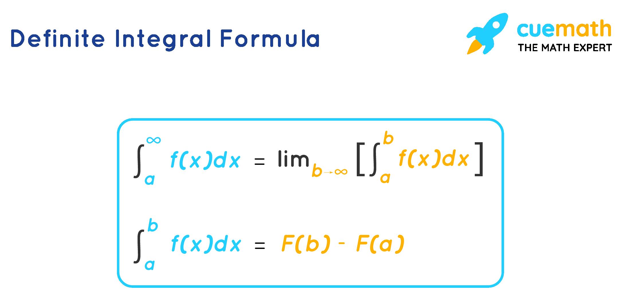 Definite Integral Formula