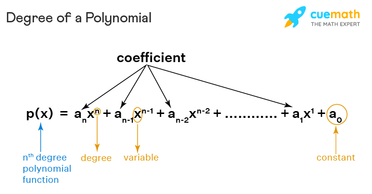 degree of polynomial