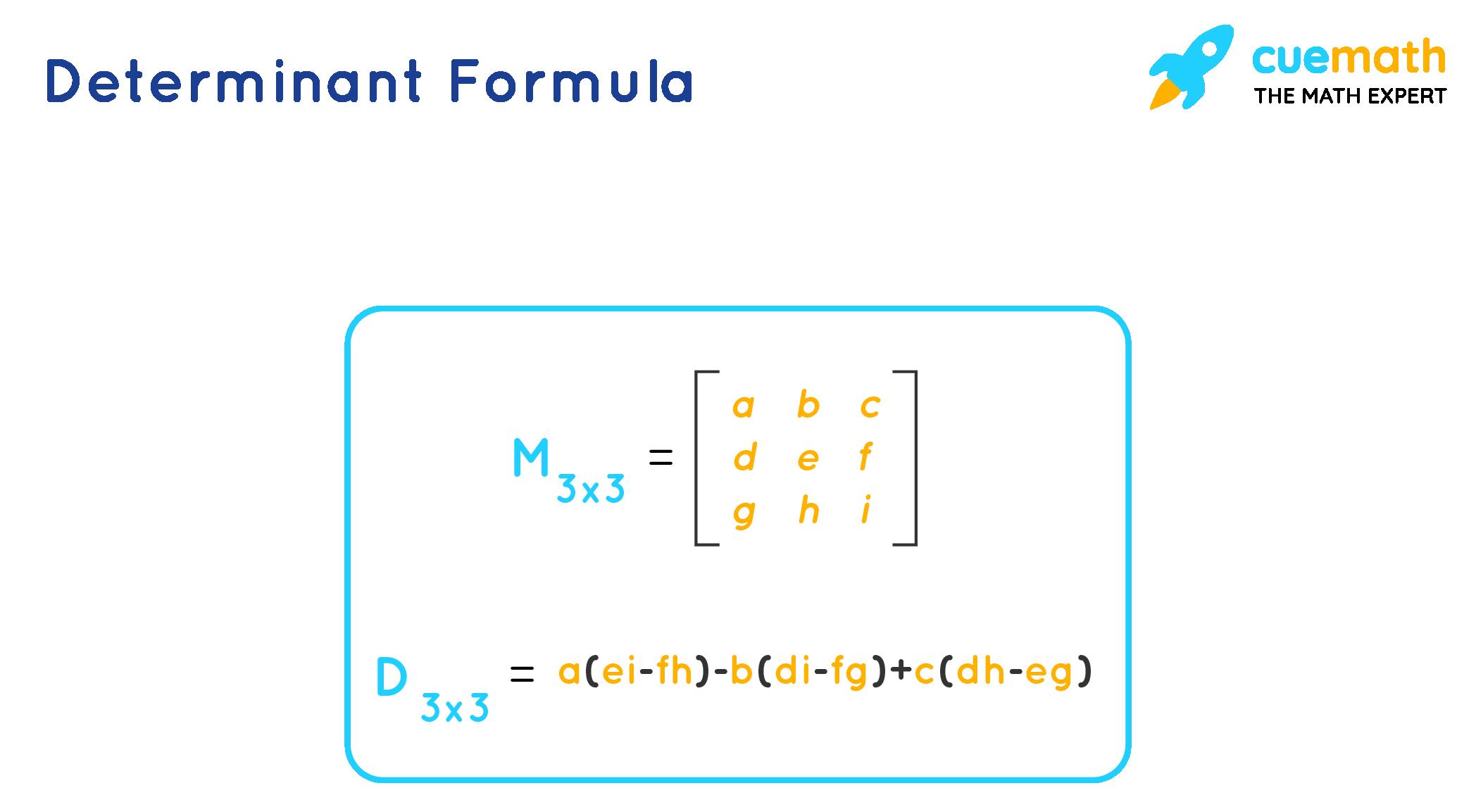 Determinan formula