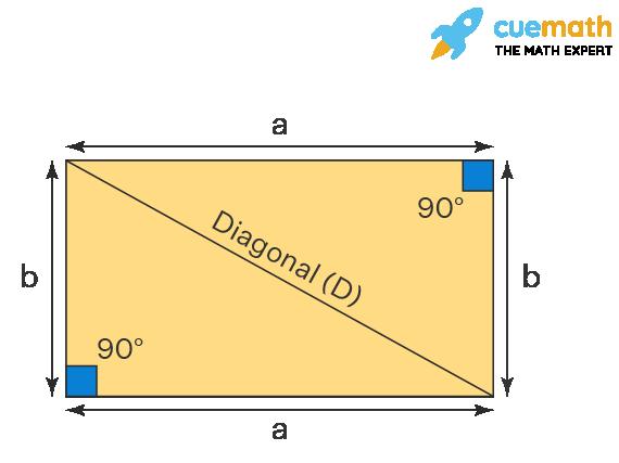 Diagonal Angles of Rectangle