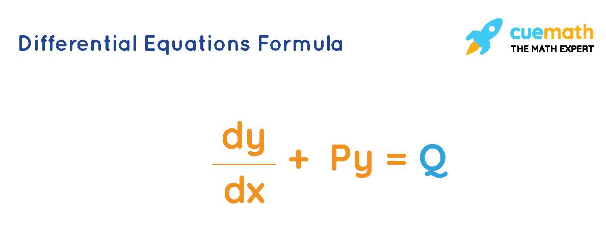 Differential Equations Formula
