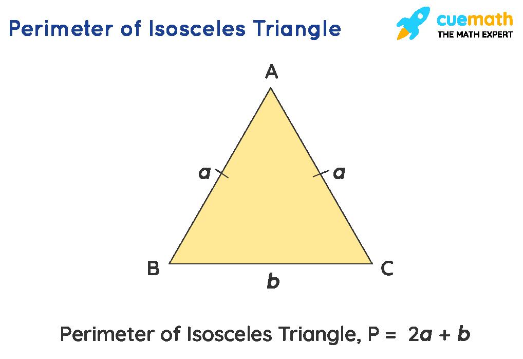 Perimeter of isosceles triangle,