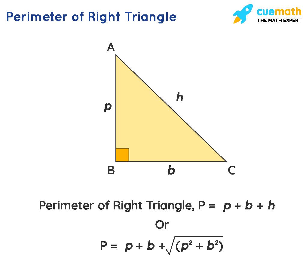 right triangle perimeter formula