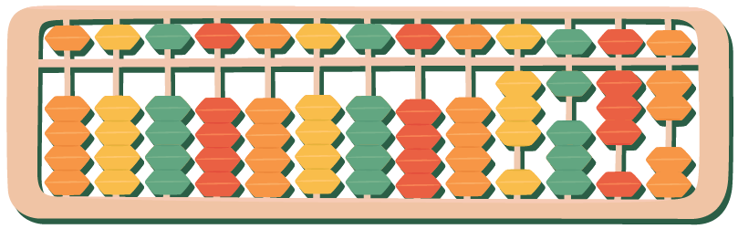 Parts of abacus