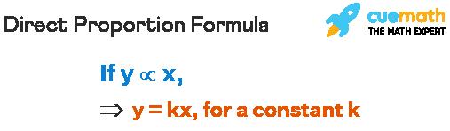 direct proportion formula