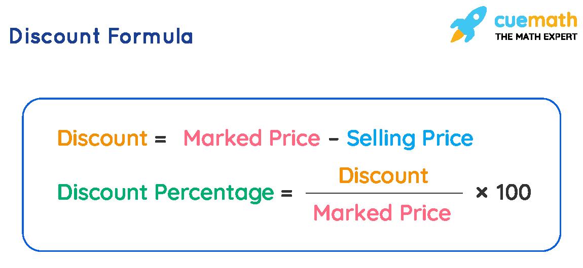 formula for discounts