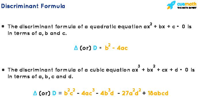 discriminant formula