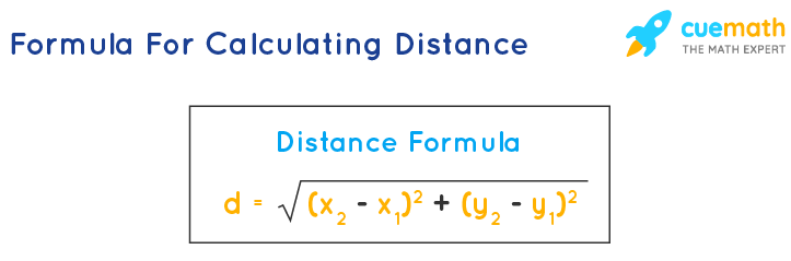distance formula for calculating equidistant