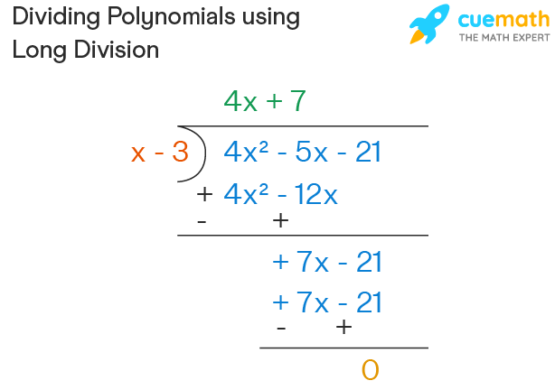dividing polynomial by binomial