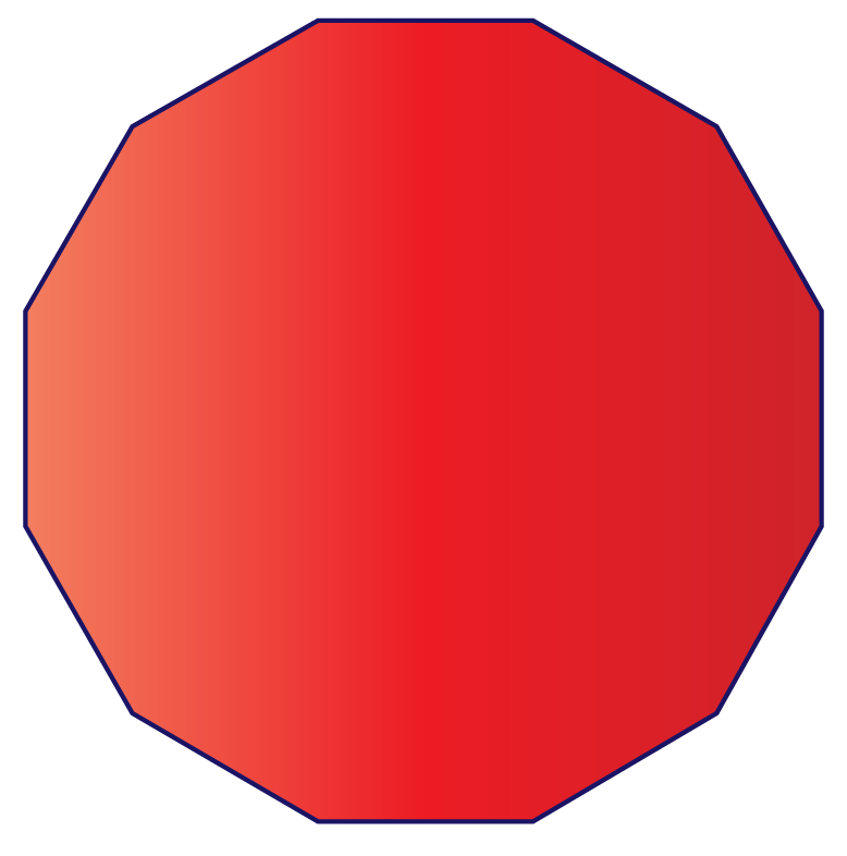 Dodecagon definition: A polygon with 12 sides