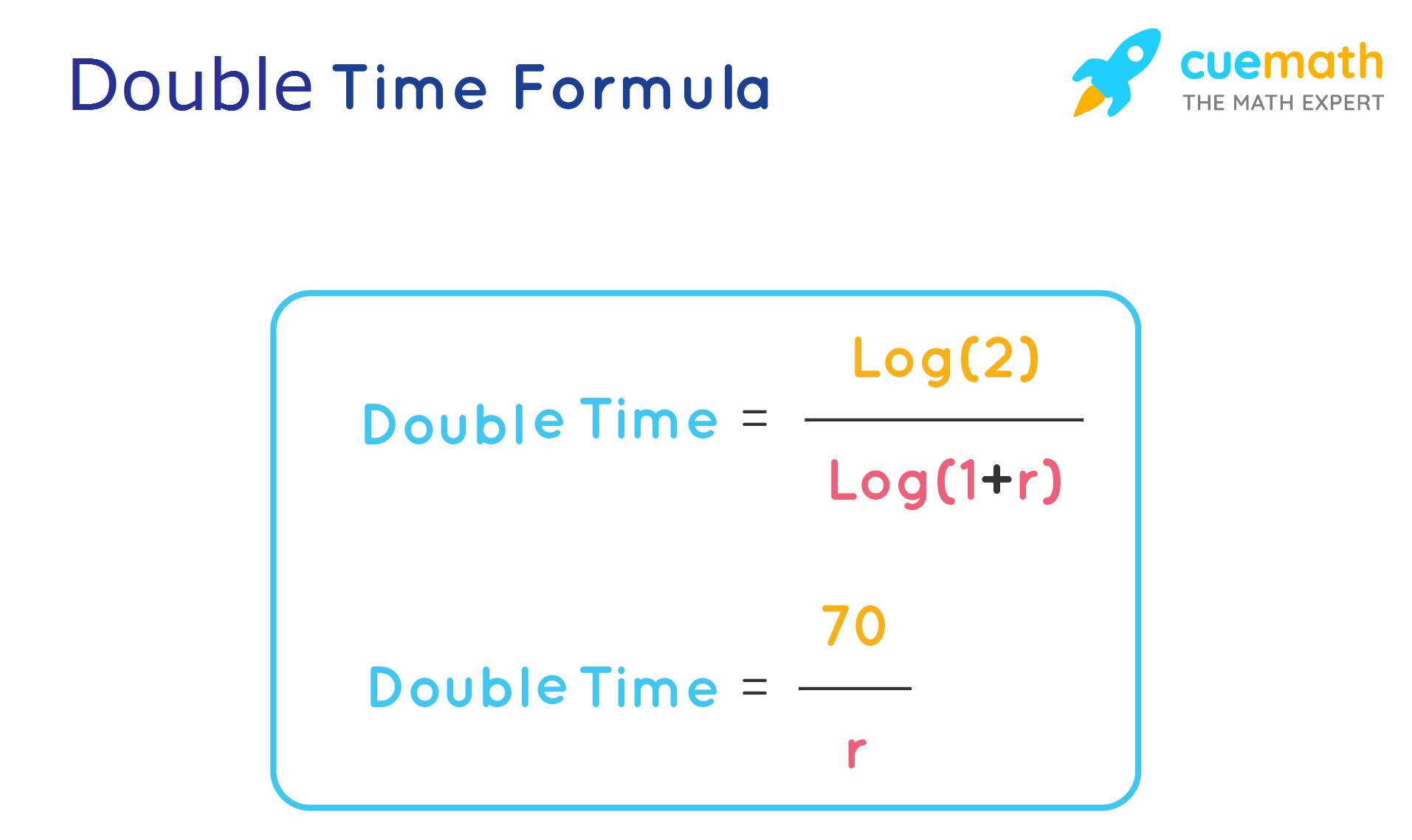 Double Time Formula