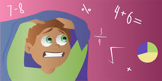 Child with math fear