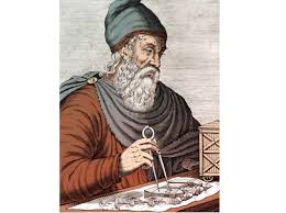 Archimedes during an experiment