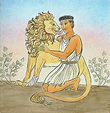 Ándroclus and the lion