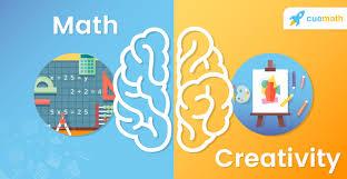 Math and creativity poster