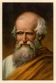 Early photograph of Father of Mathematics - Archimedes