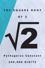 Square root of 2