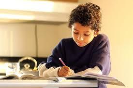 kid studying
