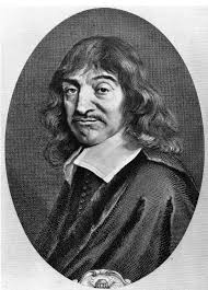 An early photograph of Rene Descartes