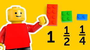 math games using LEGO