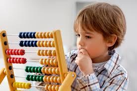 kid performing abacus