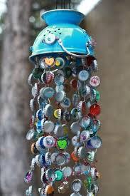 Bottle cap chimes