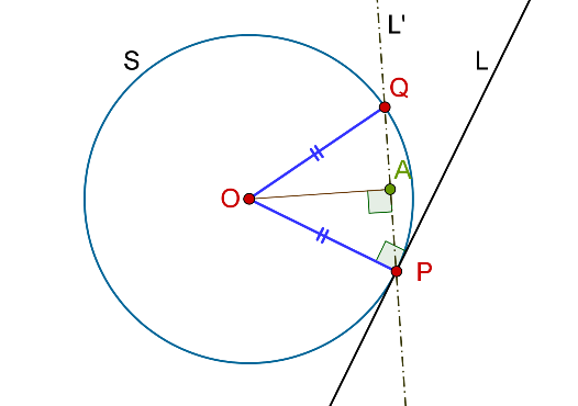 Circle, tangent and secant example 2