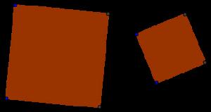Similar squares