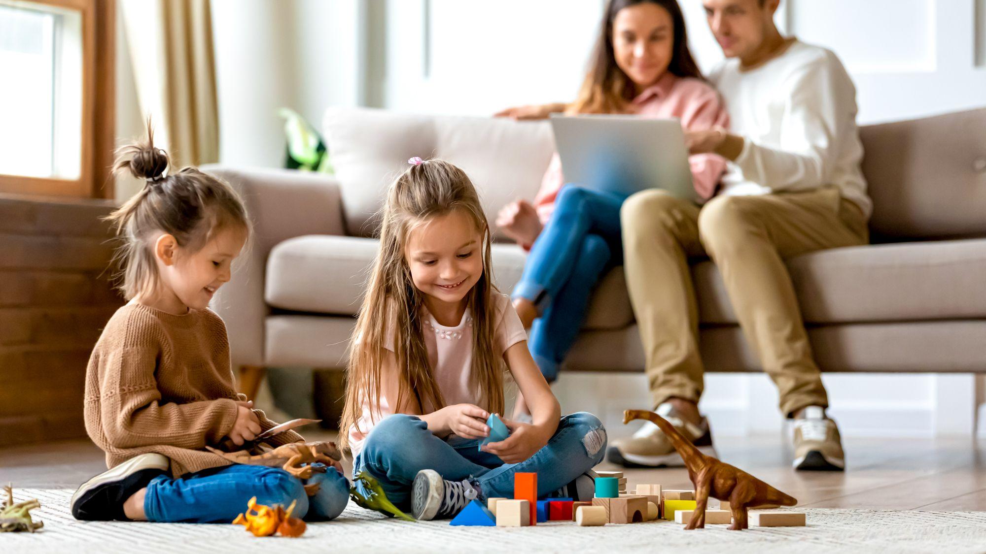 Children enjoying math over the summer vacations