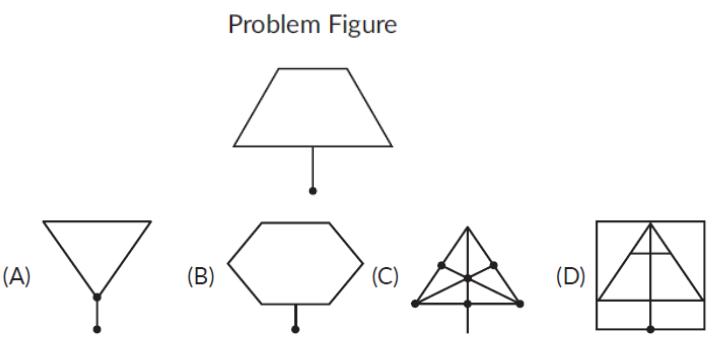 Embedded figure
