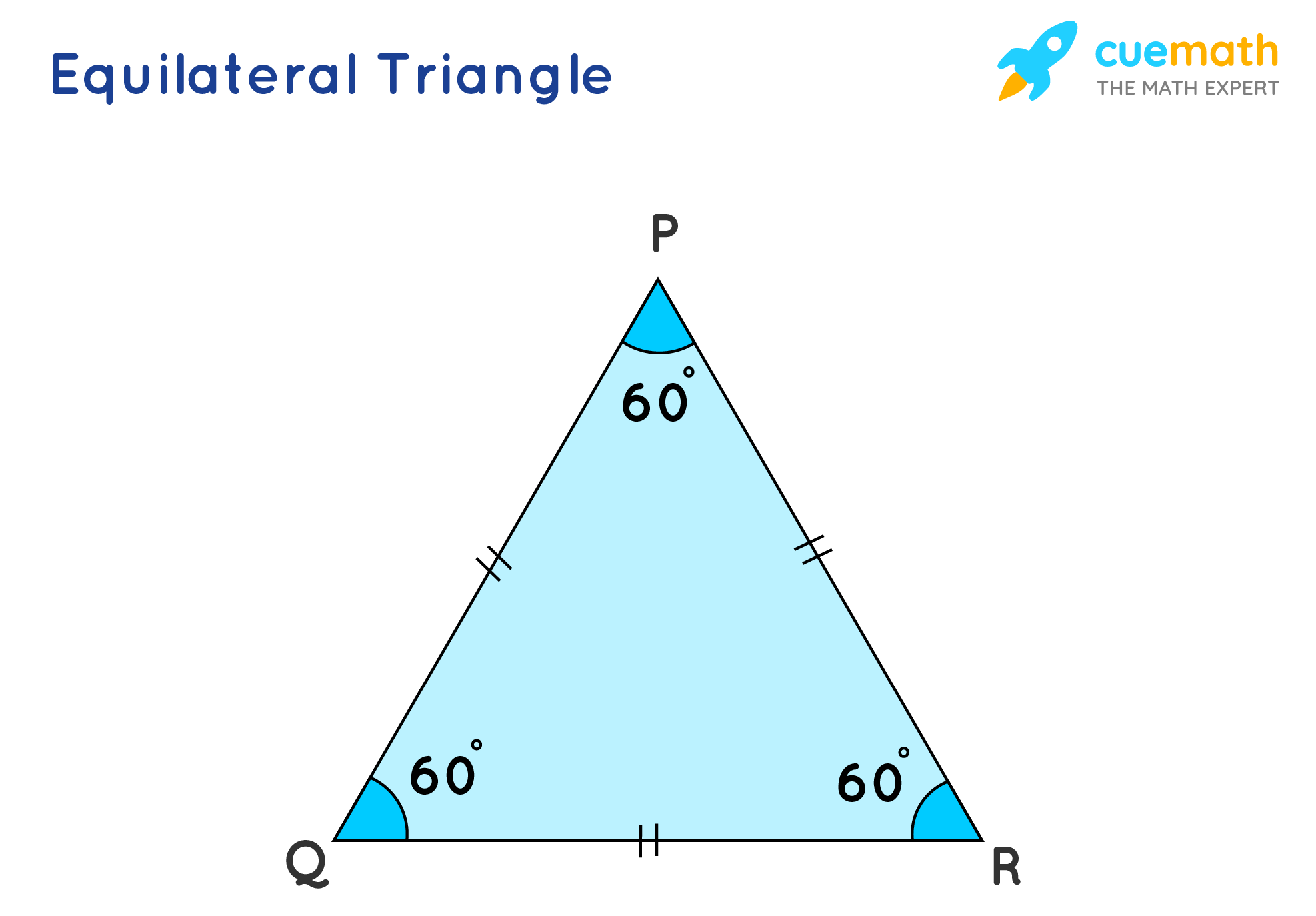 3 sided Equilateral shape