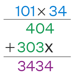 Long Multiplication Example