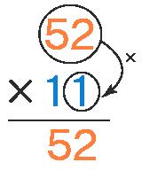 Column Long Multiplication