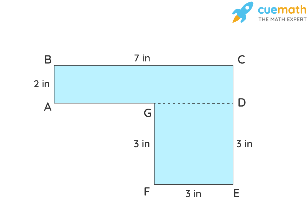 Area of Composite Shapes - Example 1