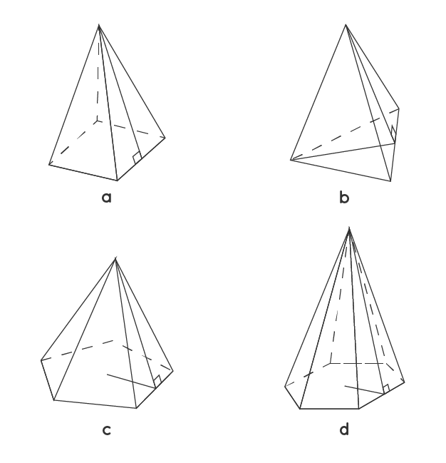 Example of a Pentagonal Pyramid