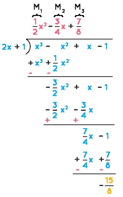 Dividing polynomials using remainder theorem