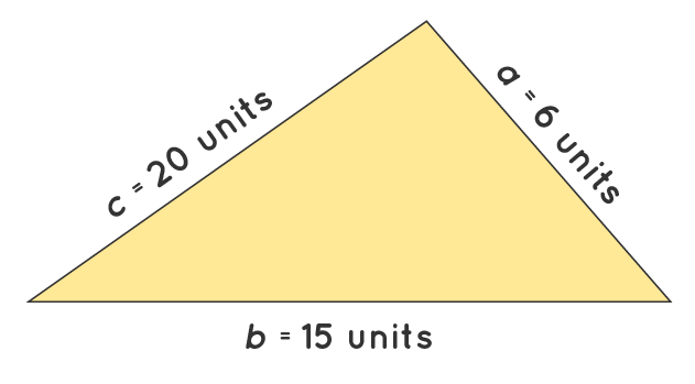 Calculation of Perimeter of a Scalene Triangle