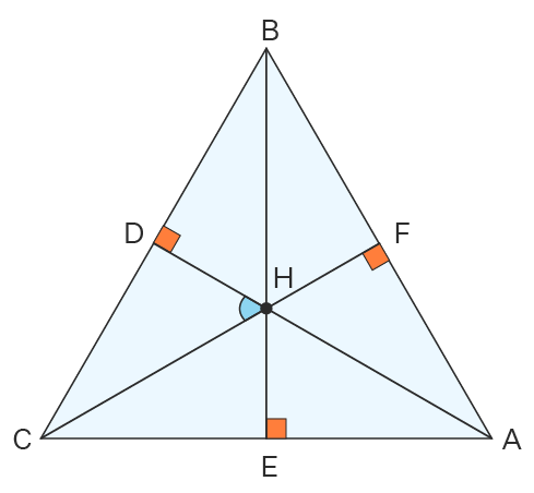 Example of Orthocenter