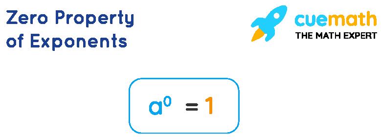 Zero Property of Exponents
