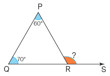 Exterior Angle of Triangle - Example