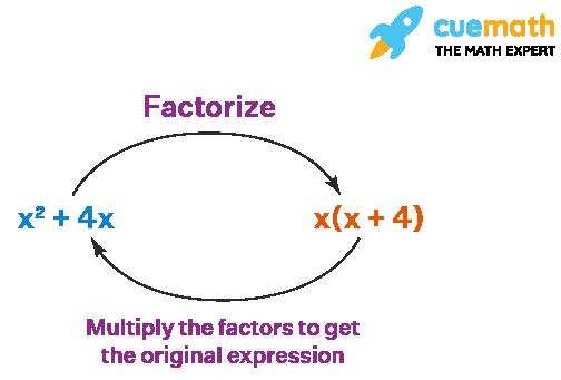Factorization of Algebraic Expression using Common Factor Method
