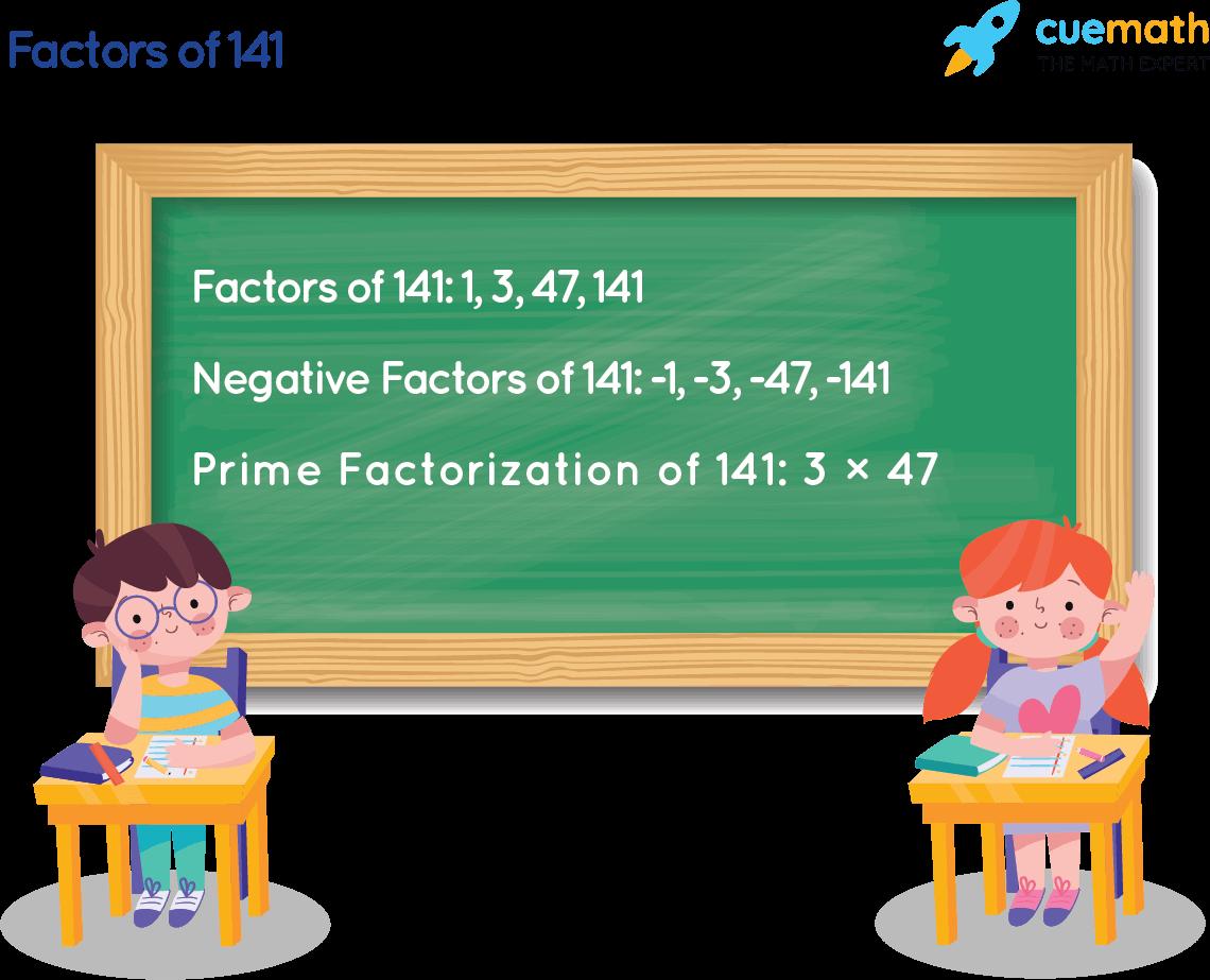 Factors of 141