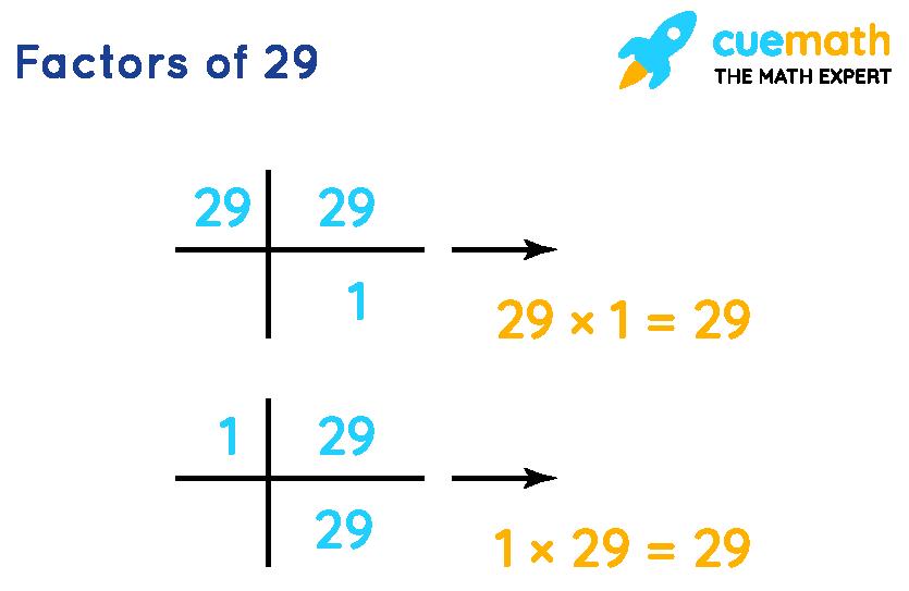 Factors of 29