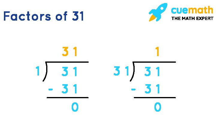 Factors of 31