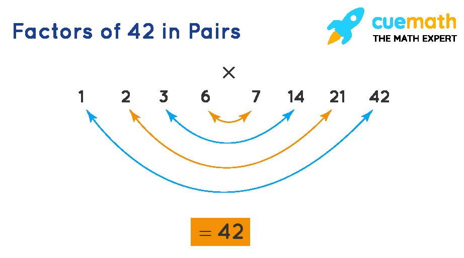 pair factors of 42