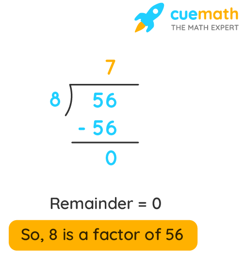 What are factors of 56