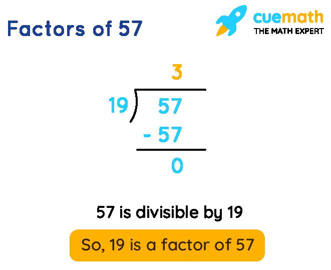factors of 57